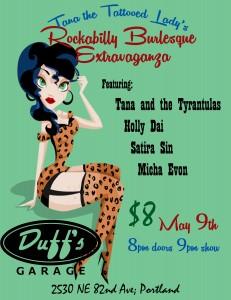 Burlesque 101 2018 Session-Class Six @ Ragtime Dance Studio | Portland | Oregon | United States