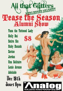 Tease the Season @ The Analog | Portland | Oregon | United States